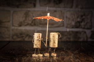 Wine Cork Couple